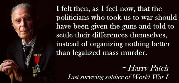 While you think about the #WW1Centenary anniversary, remember Harry Patch too ► http://t.co/LBCXj6KbIJ