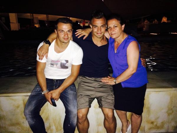 Xherdan Shaqiri Family Xherdan Shaqiri on Twi...