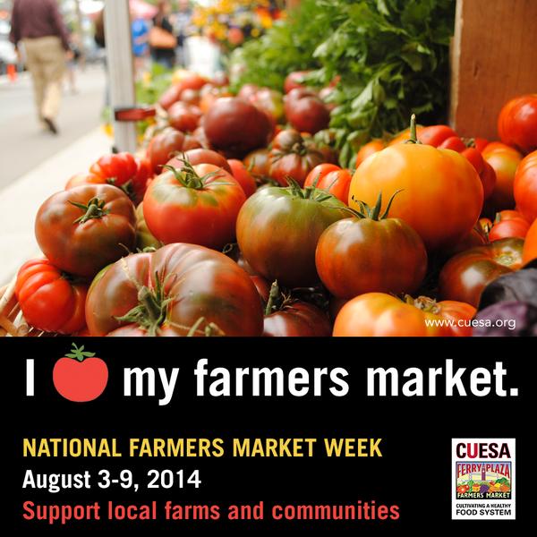 Happy National Farmers Market Week! Declare your ❤ for farmers markets with us. #FarmMktWk http://t.co/kQ4SbR7IOD