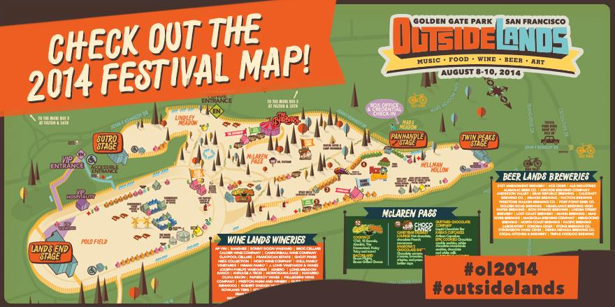 Outside Lands 2014 | Lineup | Tickets | Prices | Dates | Video | News | Rumors | Mobile App | San Francisico | Hotels