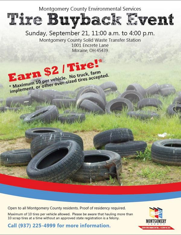 Used Tires Dayton Ohio >> City Of Dayton Ohio On Twitter The Tire Buyback Is Coming