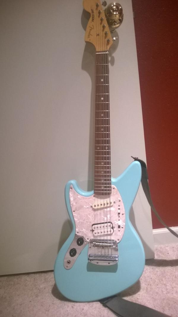 Left Handed Fender Jagstang Wwwgenialfotocom