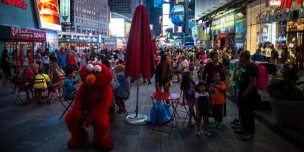 nyt metro on twitter the lives behind times square cartoon