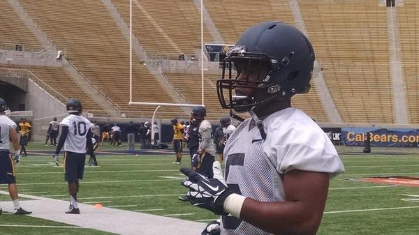 Ladies and gentlemen, Tre Watson. #Cal #FallCamp http://t.co/EU64O9FO8C