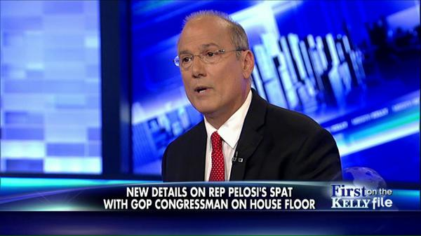 """She looked very bizarre, very angry,"" says @RepTomMarino on #Pelosi confrontation. Tune in to #KellyFile. http://t.co/ewyiY5i7oE"