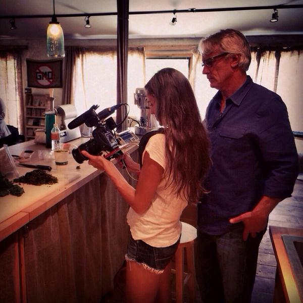 """Meredith Frost On Twitter: """"Shooting At @BradsRawFoods In"""