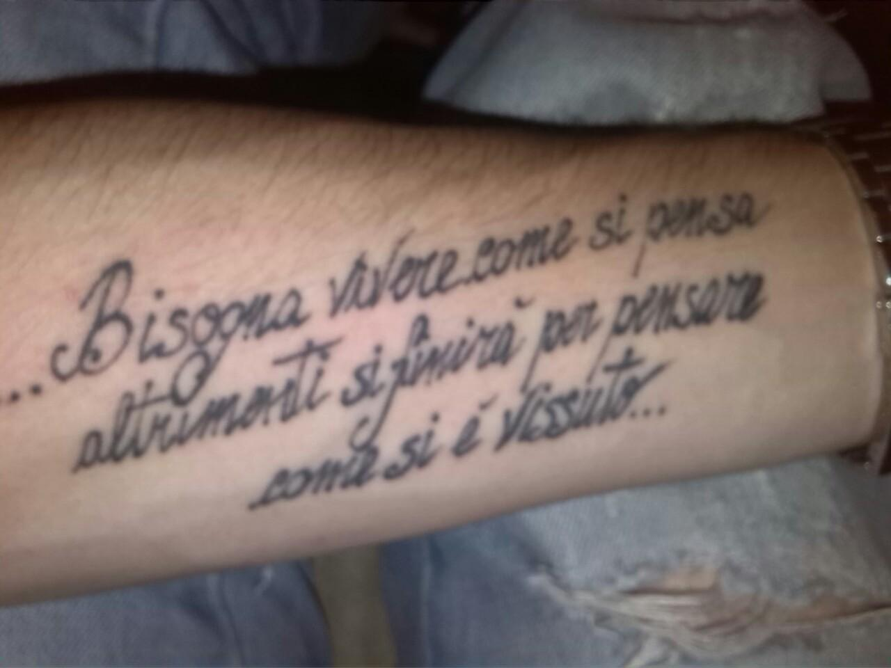 Senshi1981 on twitter tattoo aforismi jimmorrison for 3 parole da tatuare