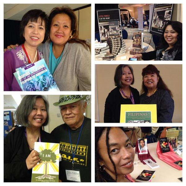 Photos by @ForCommunities: #FANHS2014 #authors @KuttinKandi & me, @Blackapina1 @drdawnbm Herb Jamero, Patricia Brown http://t.co/q56lxUqgXU