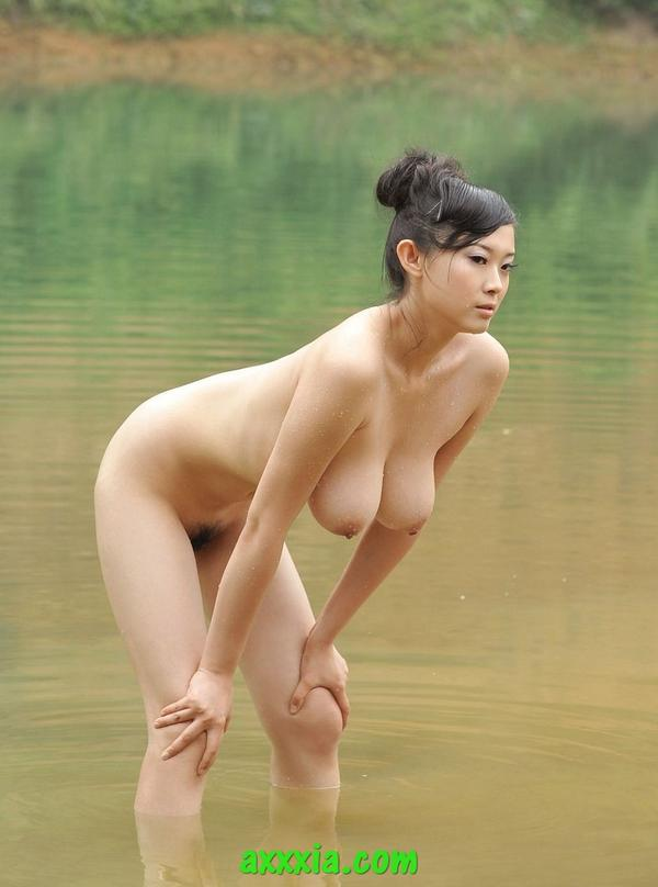 Korean Beach body naked