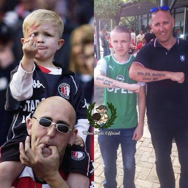 Famous Feyenoord swearing child is now all grown up [Picture]