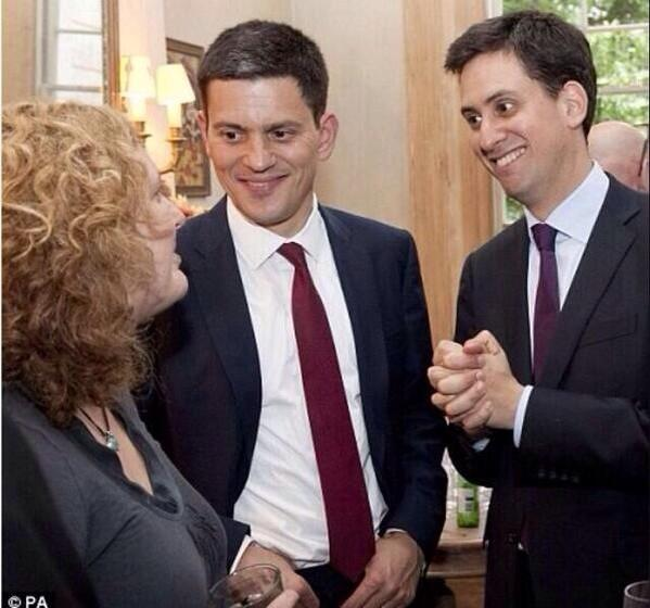 He's comedy gold. Until you realise he's the leader of the Labour Party. And then he isn't. http://t.co/aMchJMGbv2