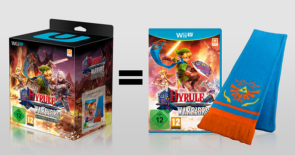 Edición limitada Hyrule Warriors