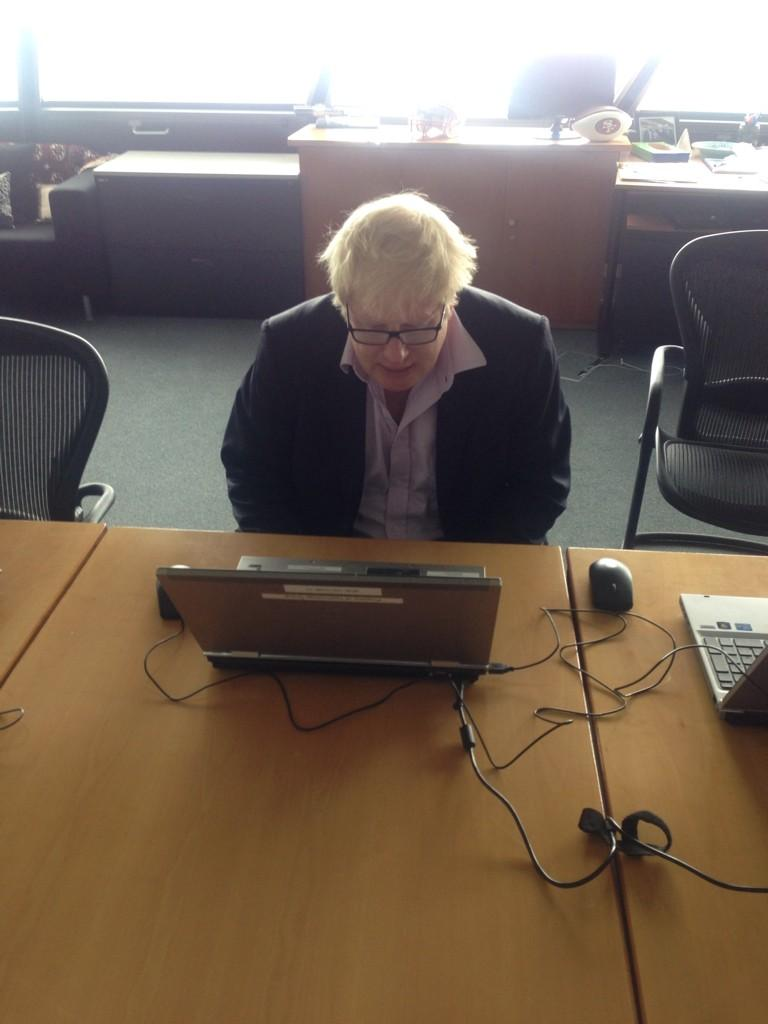 I'm ready for your questions - please send your questions in using #AskBoris http://t.co/4Q4Q2ZVJSg