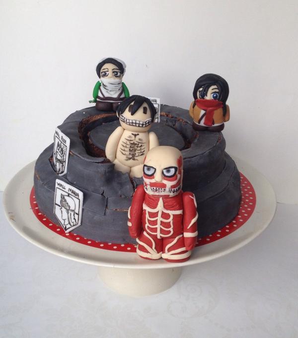 Attack On Titan Cake Ideas