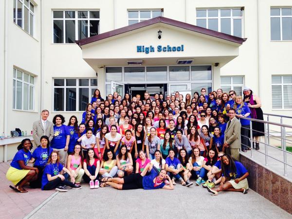 Teen peace corps camp