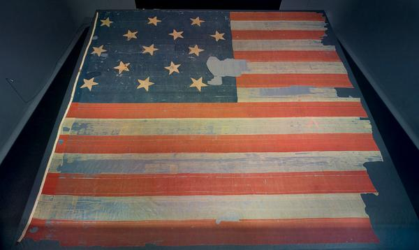 """O say can you see..."" our flag survived the War of 1812 & inspired a famous song. #SIshowdown http://t.co/rUuqVK4xC5 http://t.co/voV6YHeMxE"