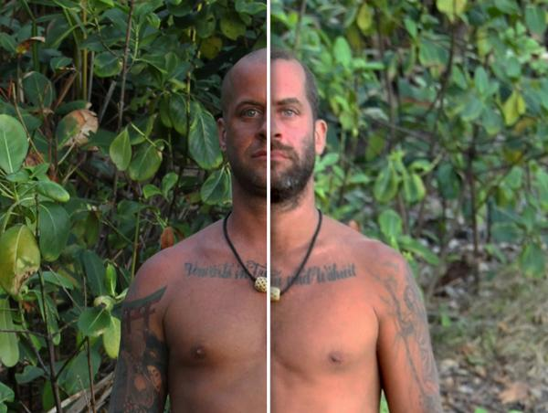 Naked and afraid without censure-6969