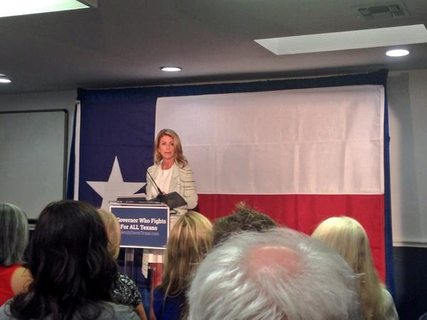 """It's not acceptable that the Governor's office is for sale."" - @WendyDavisTexas #txlege #tx2014 http://t.co/keuOIxxqHp"