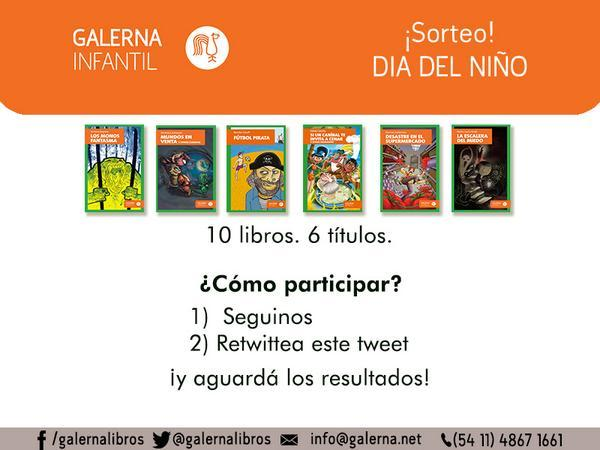 ¡Segundo #sorteo por el #díadelniño! ¡Follow y retweet para ganar!  Bases y condiciones: http://t.co/Kuz39Tp9Er http://t.co/ydEDEXcPds