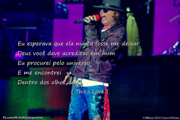 """W.Axl Rose - FP on Twitter: """"This I Love http://t.co/IbqmpUASw7"""""""