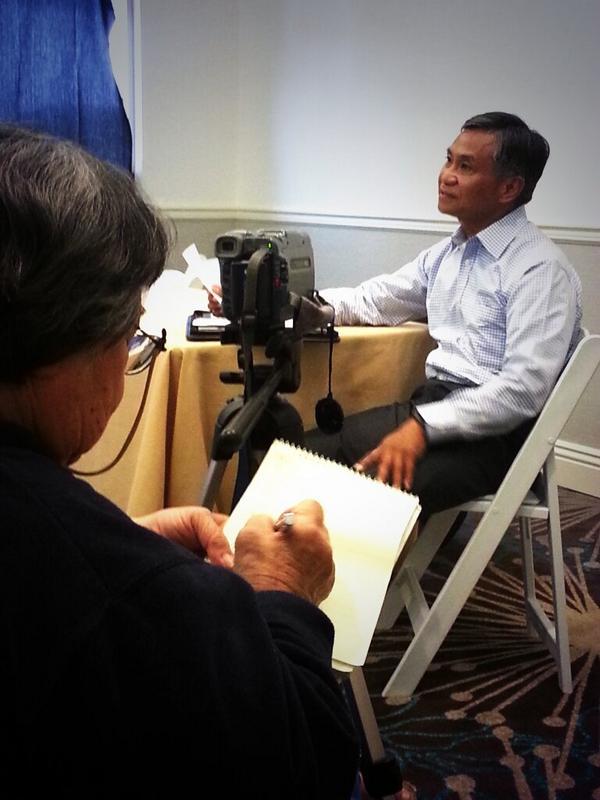 (Ret.) US General Tony Taguba facilitating a workshop on Family Caregiving at #FANHS2014 http://t.co/wffjN3ZOne