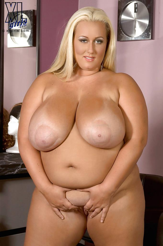 Blonde chubby cum