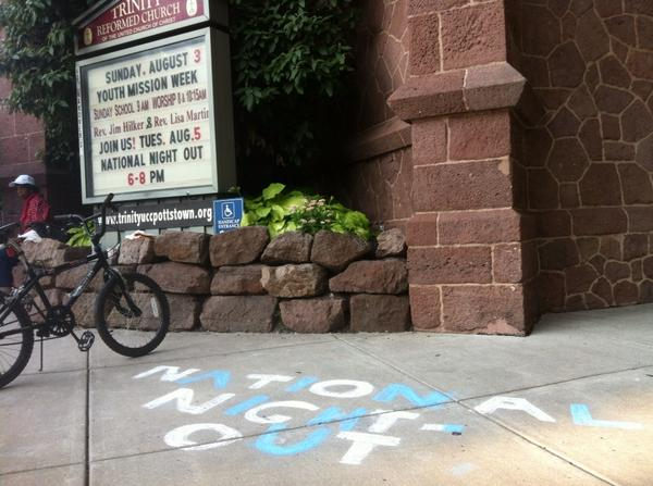 Some appropriate marketing for #mercnno at Trinity Reformed Church. http://t.co/OqXPQxgyXy