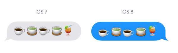 Guys apple changed the baseline for some emoji so they don't line up its driving me nuts. http://t.co/3ssCZCoBvc
