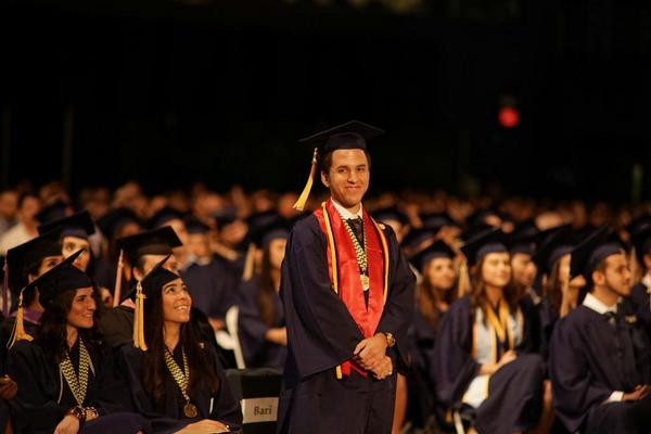 Sean Bari is the first person in his family to receive a formal college education #worldsahead #firstgen http://t.co/PlxDEDyKvt