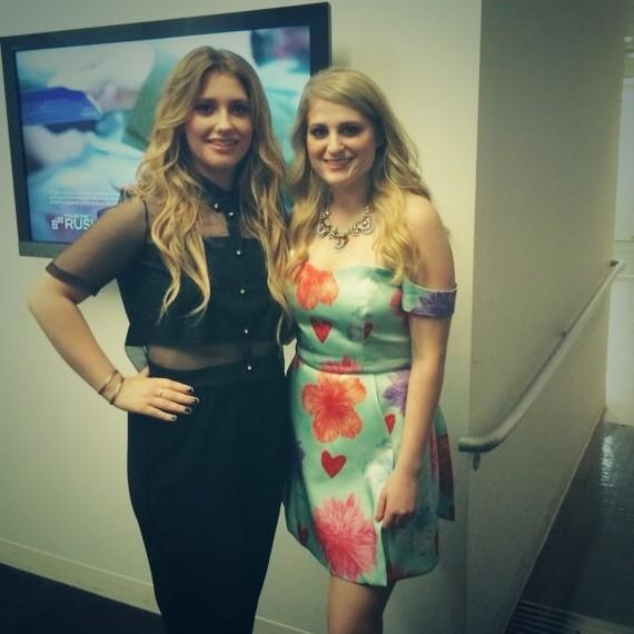 Atrl celeb photos ella henderson and meghan trainor looking cute