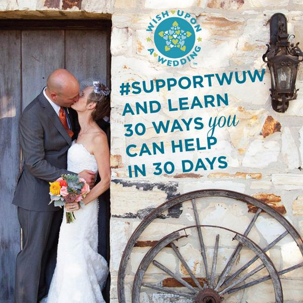 #SupportWUW and learn 30 Ways you can help in 30 Days. http://t.co/Vx7i1i2OE5