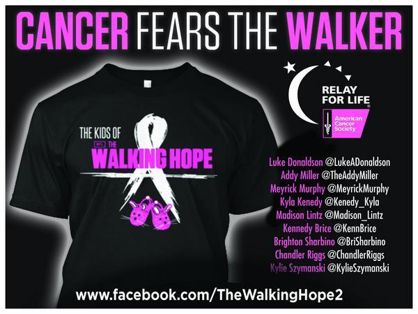 @mcbridemelissa Please RT! #WalkingHope 4 #ACS design honoring #TWDKIDS! http://t.co/h9WfBrWqM3 #twdfamily 1 more day http://t.co/nvMgBr7kpN