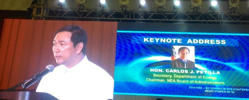 Sec Petilla congratulates the unsung heroes of Yolanda Power Restoration 'Taskforce Kapatid'. http://t.co/9fY1M2fQBF