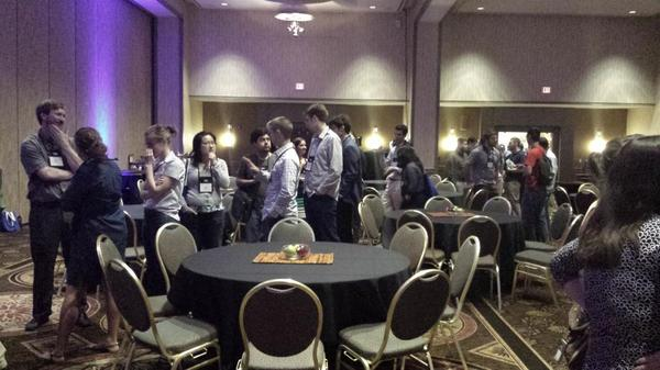 NExT ice cream social.  #MAAthFest http://t.co/WKw7HXeQ21
