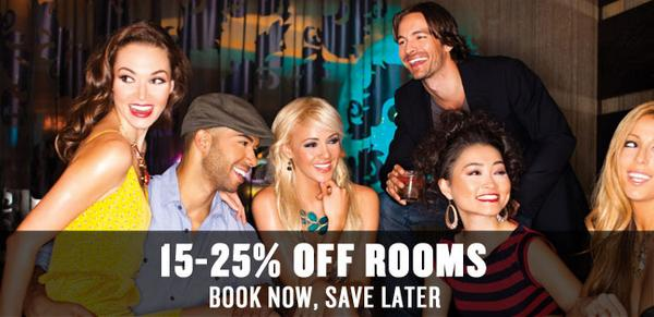 15-25% OFF ROOMS! If you ever needed an excuse to plan your vacation, now you have one. http://t.co/Q63gjaFhC7 http://t.co/WA2qPadNLn