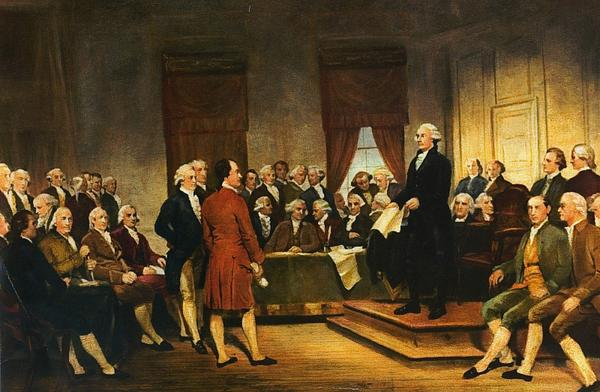 On this day 227 years ago, delegates in Philadelphia begin debating the first draft of the U.S. Constitution. http://t.co/luG8gNwQWA