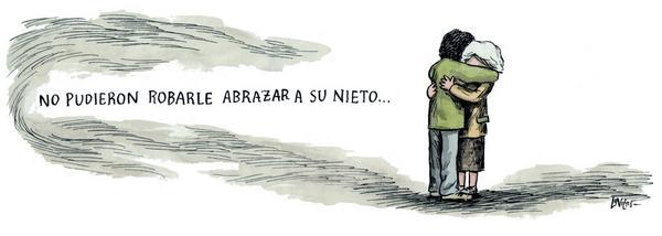 Qué lindo fue despertame para dibujar hoy. Este es para Estela y las @abuelasdifusion #elnietodecarlotto http://t.co/QATVRNhOi3