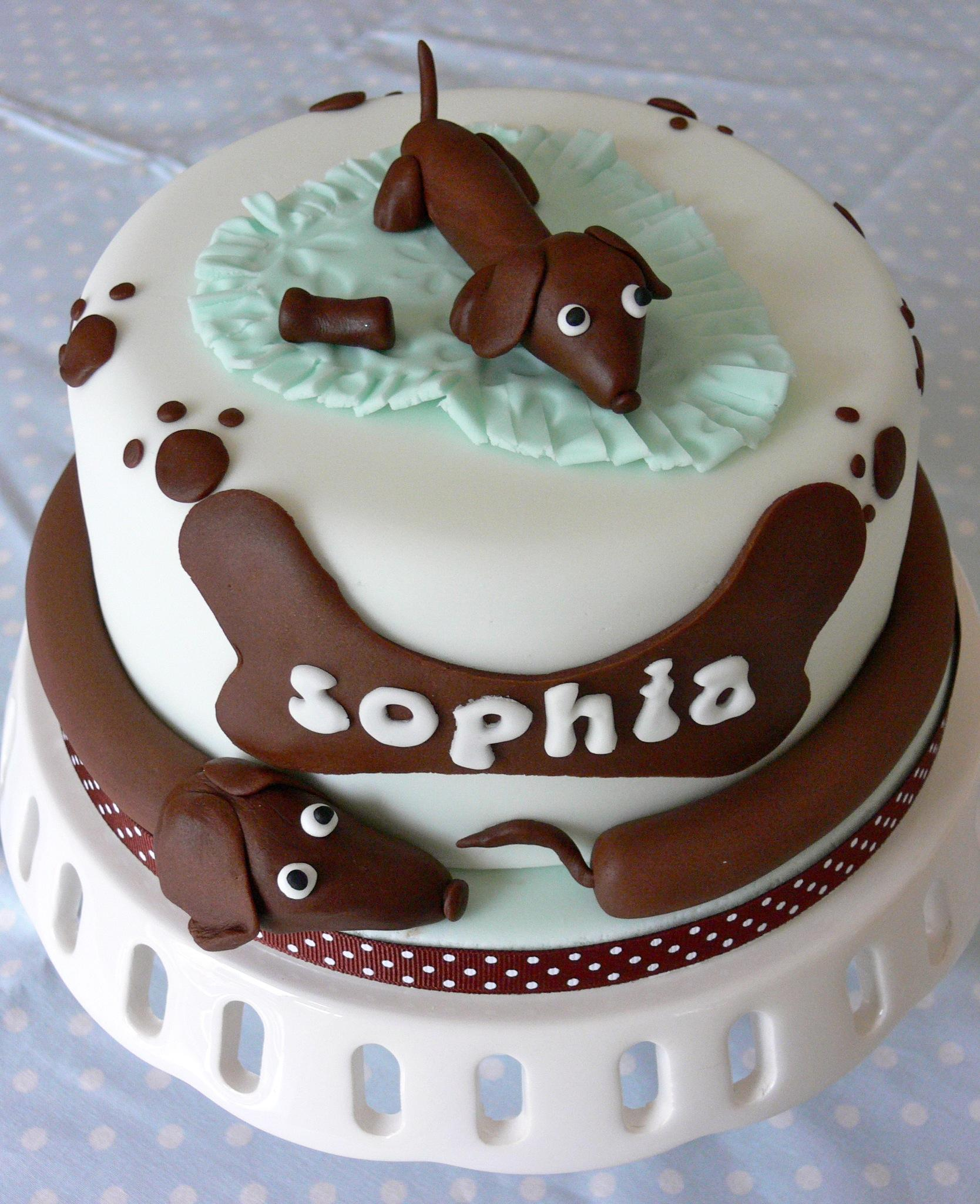 puppy birthday cake littlecakepantry on quot a sausage birthday cake 6866
