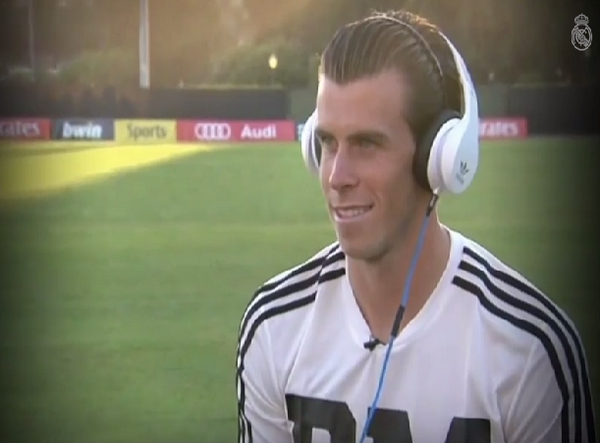 Spine tingling: Gareth Bale listens back to commentary of Real Madrid winning La Decima [Video]