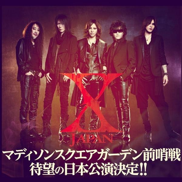 #Xjapan #Japan #show CONFIRMED!! #日本 公演決定!! http://t.co/upZmRsbljL