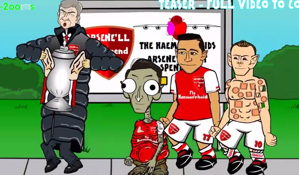 Özil as ET, Rooney as Shrek: 442 Toons Premier League 2014/15 Teaser [Video]
