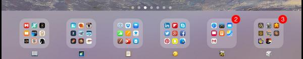 Remember that in iOS your folder names don't have to be text. http://t.co/X4dMmd94lM