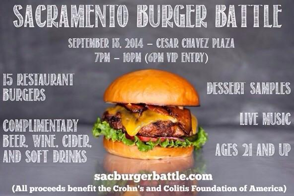 You like burgers don't you? How about beers? And charity? Check out the Sac Burger Battle :)