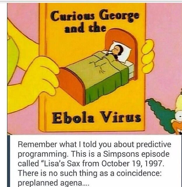 Los Simpsons Y El Virus Ebola