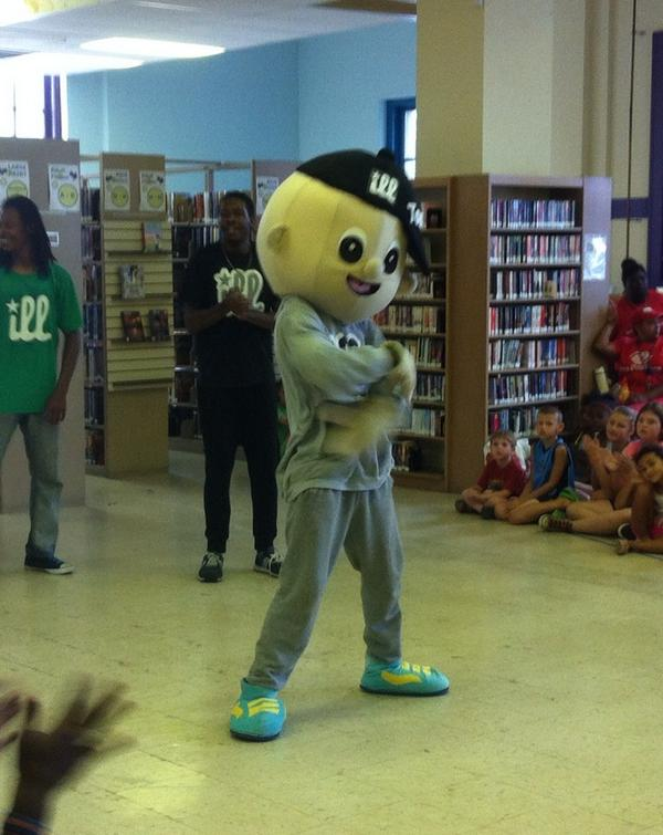 'Ill Tommy, Mr. Positivity at the #Pottstown Library. http://t.co/rBGZtSBp7V