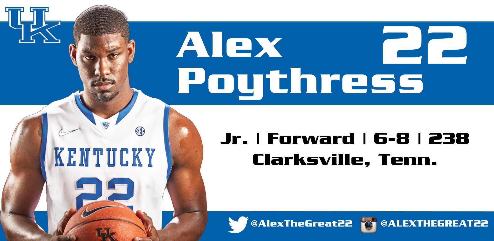 Alex Poythress
