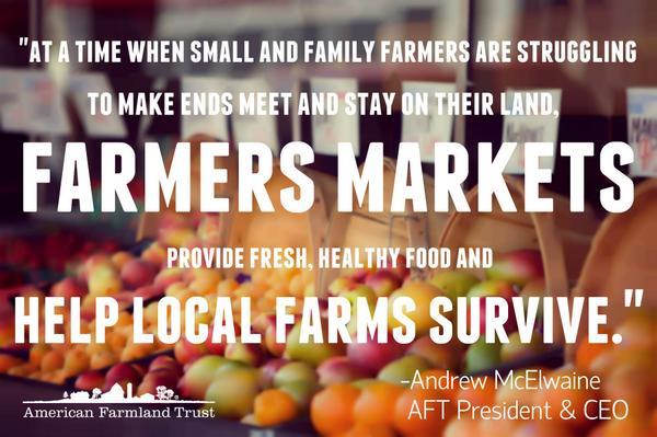 It's #NationalFarmersMarketWeek - Take the pledge to help local farms survive: http://t.co/9tvOZLxCw1 http://t.co/jsQj8EYFrH