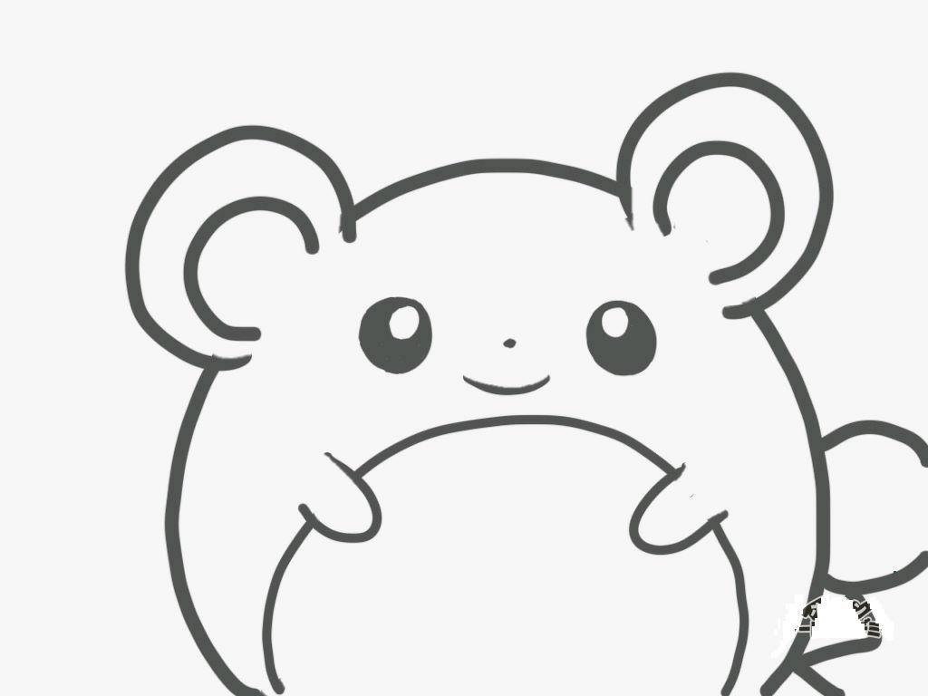 """マリル丸 on twitter: """"マリルぬりえ #ポケモンぬりえ #マリル #tw3ds"""
