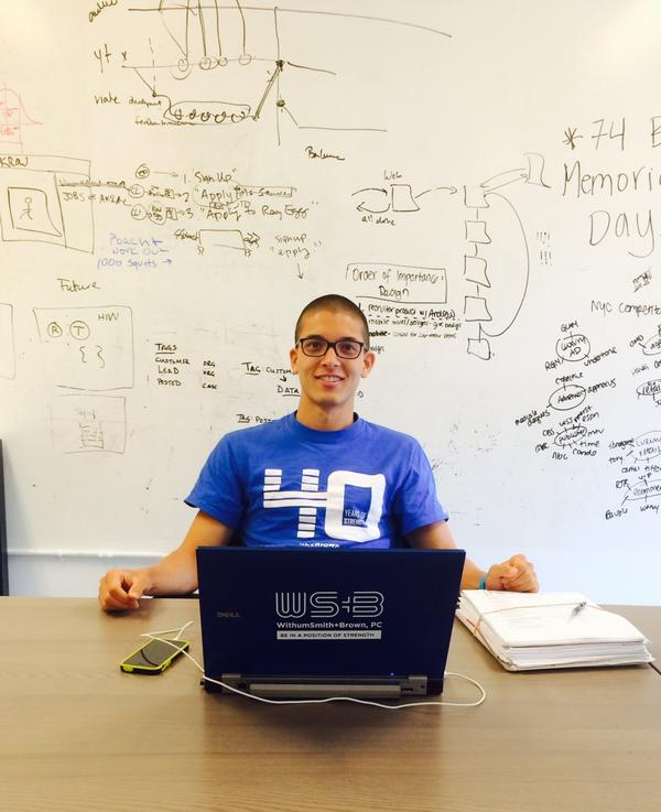 Startups need resources! In our space Taka, a @WithumCPA rep, holds office hours, giving accounting advice! http://t.co/cwRChXdn4u