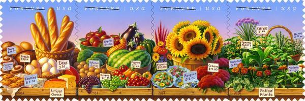 Mark @Bittman goes to bat for farmers markets + sneak peek at new #FarmMktWk US stamp! http://t.co/iVtZVEIGOc http://t.co/AvmG8fwxlt